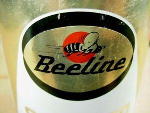 GRAPHIC * RARE 1960's era FRONTIER BEELINE STRATO LUBE MOTOR OIL Old 1 qt. Can