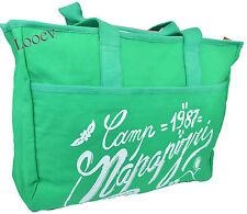 Sac Mer Shopping Napapijri Femme Bag femme été Vert N8O01 Fancy E/W Fourre-tout