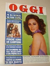 OGGI 1974/8=BRUNO ARCARI=SUZI QUATRO=HARRISON FORMAN=EBOLI=FRANCO ROSSI REGISTA=