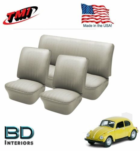 1958-1964 VW Volkswagen Bug Beetle Off White Slip On Upholstery F//R In Stock!