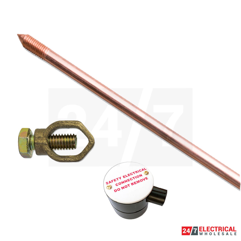 "Unistrand 5//8/"" 4ft Copper Earth Rod"