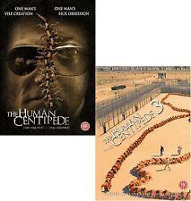 ❏ THE HUMAN CENTIPEDE 1-3 DVD SET (First + Full + Final Sequence + Third) 1 2 3