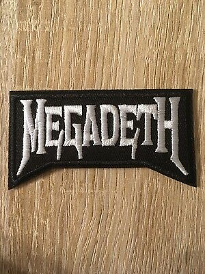 """SLAYER band PATCH 3.25/"""" Iron-on Metal Music Embroidered Slayer Rock Patches"""