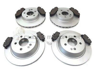 FRONT AND REAR BRAKE DISCS AND PADS FOR MERCEDES  VITO VAN 111 CDI 9//2003