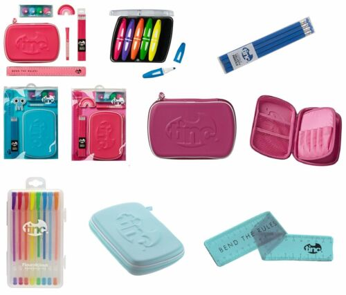 Tinc Stationary Back to School Pencil Case Set Highlighters Stocking Filler
