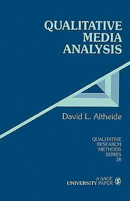 Qualitative Media Analysis by Altheide, David L.