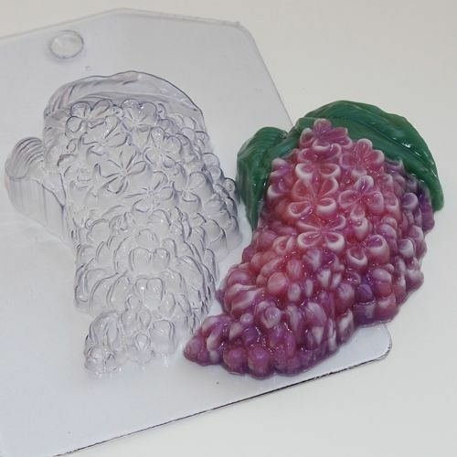 """/""""Lilac/"""" flower plastic soap mold soap making mold mould"""