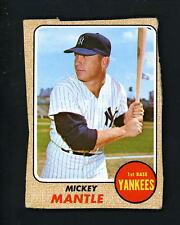 1968 Topps Mickey Mantle New York Yankees #280 Baseball Card