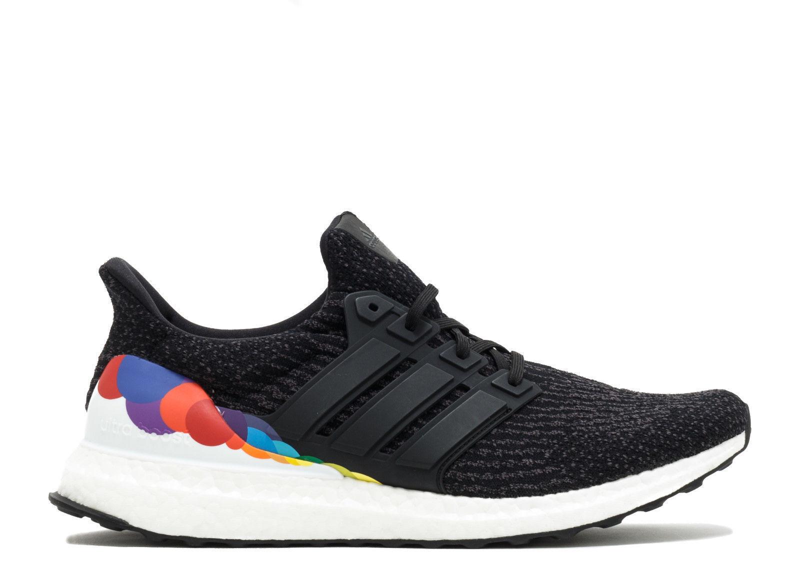 Nuevo Adidas para hombre Ultraboost 3.0 Negro/Multi orgullo LGBTQ Negro/Multi 3.0 CP9632 Zapatillas 46b63c