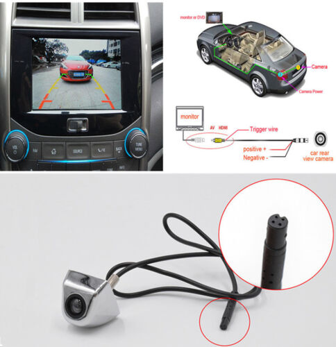 170° Korean Screw Reversing Camera HD Car Auto Rear View Backup Parking Camera