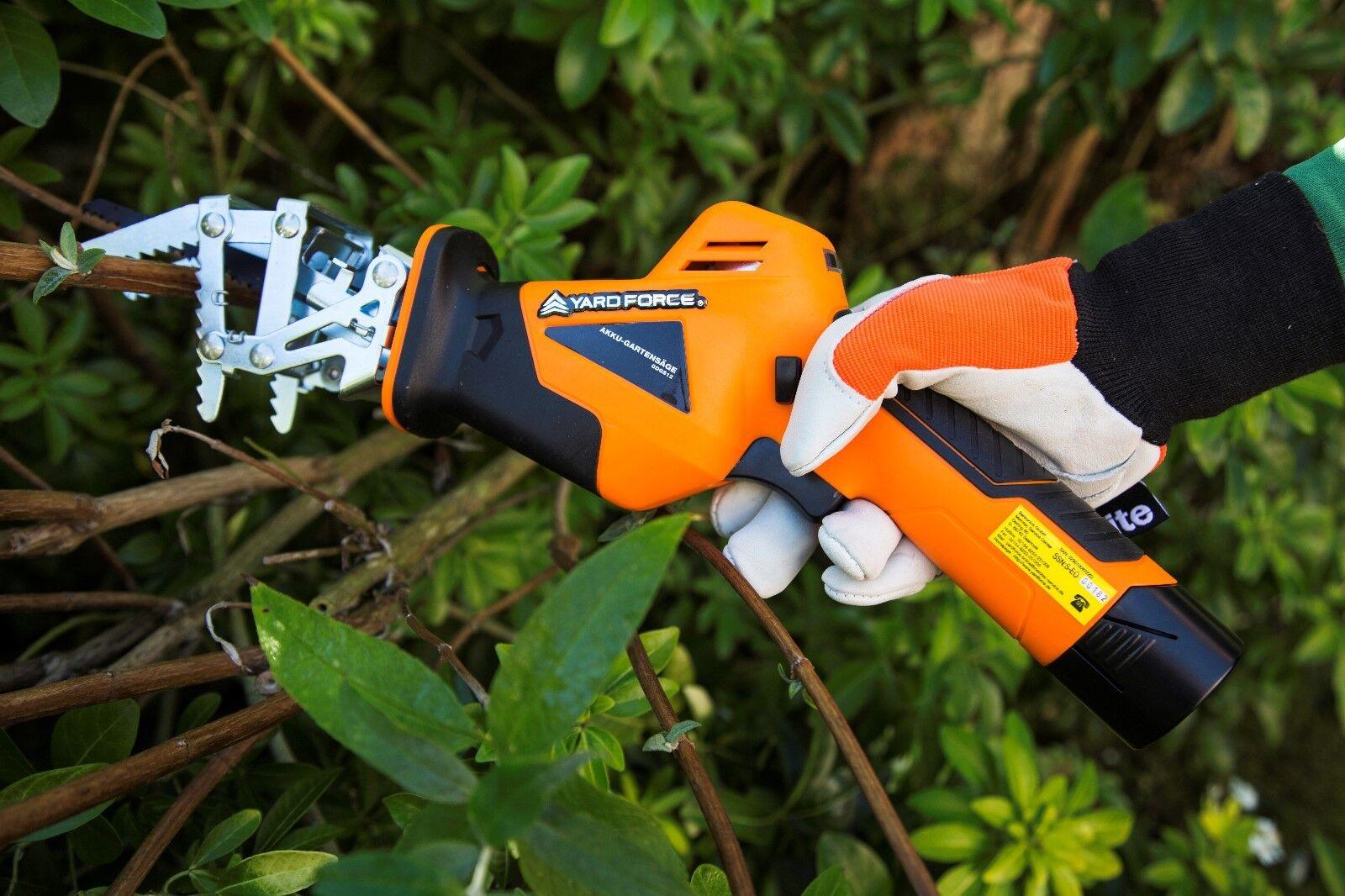 YardForce Akku GDGS12 GDGS12 GDGS12 Gartensäge GDGS12 200mm | Gute Qualität  | Verkaufspreis  f7592c