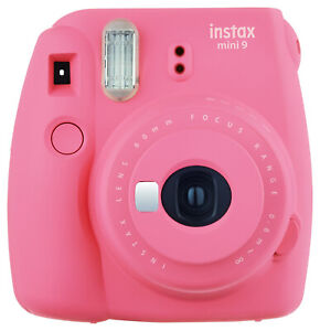 Fujufilm instax mini 9 62 x 46mm Fotocamera Istantanea - Flamingo Pink