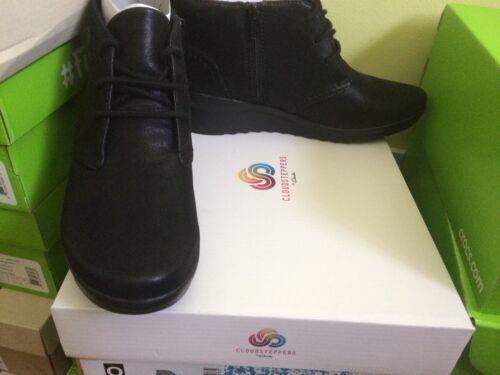 3d donna taglia scarpe 65 Sneakers Caddell alte Clarks da Hop nere unica Rrp z70vw7pqY
