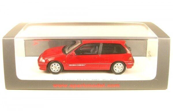 Honda Civic EF3 SI ( Rio rouge ) 1987