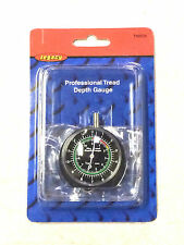 "PROFESSIONAL DIAL TYPE TIRE TREAD DEPTH GAUGE 1/32"" INCREMENTS LEGACY #TH0335"
