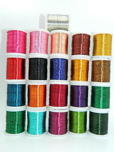 Colored-Jewellery-Making-Beading-Craft-Copper-Wire-0-3mm-Various-Colors