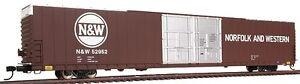 HO Walthers Pullman Standard 86' Hi-Cube 4-Door Box Car NW 932-35021 Gold line