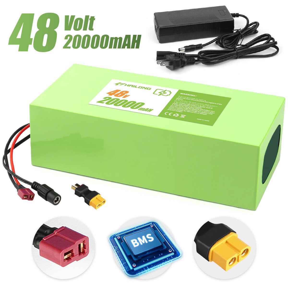 (CA Warehouse) 48v Ebike lithium battery 20ah Electric Bike Battery Charger