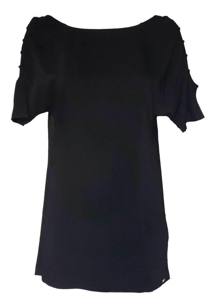 GUESS Damen Kleid OverGröße schwarz Cutouts GR. M L 36 38 40 42 NEU