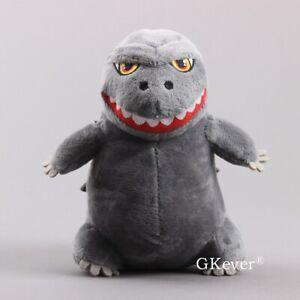 Cartoon-Godzilla-Plush-Toy-Stuffed-Animal-Figure-Doll-Cuddly-8-039-039-Teddy-Kids-Gift