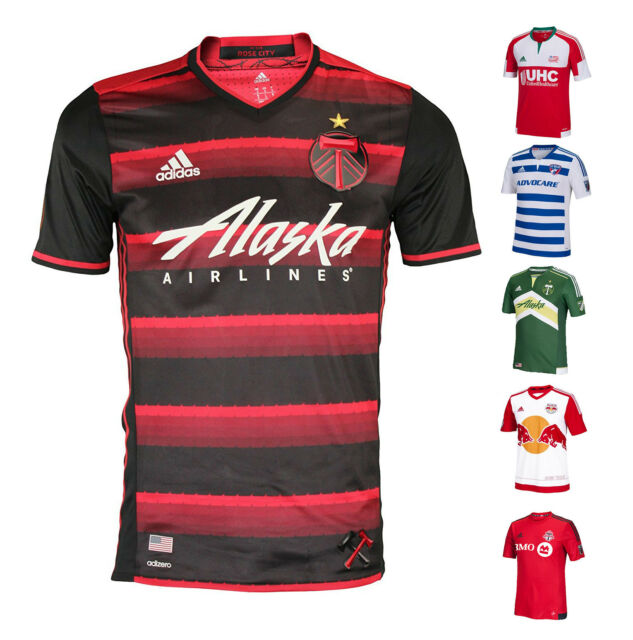 ef928be75b8 MLS Men's adidas 2016 Authentic adizero Soccer Jersey MSRP $149.99 A15bx
