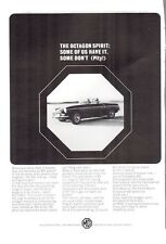 1965 MGB British Motor Corporation The Octagon Spirit PRINT AD