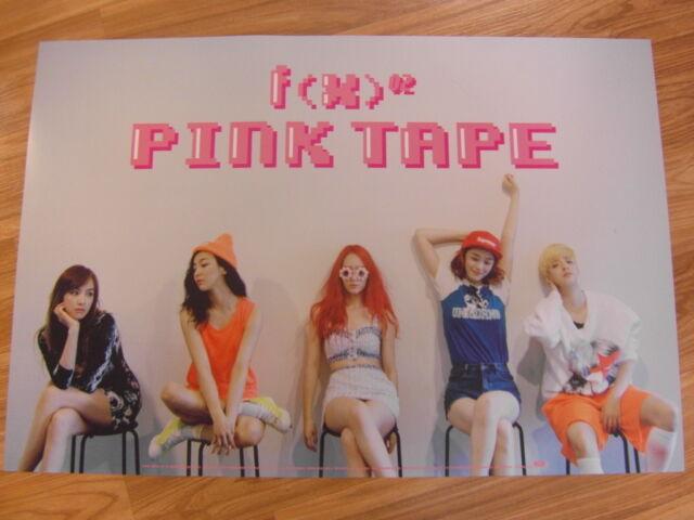 f(x) - PINK TAPE [ORIGINAL POSTER] *NEW* K-POP FX