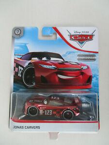 Disney Pixar Cars Jonas Carvers No Stall #123 Scavenger Hunt