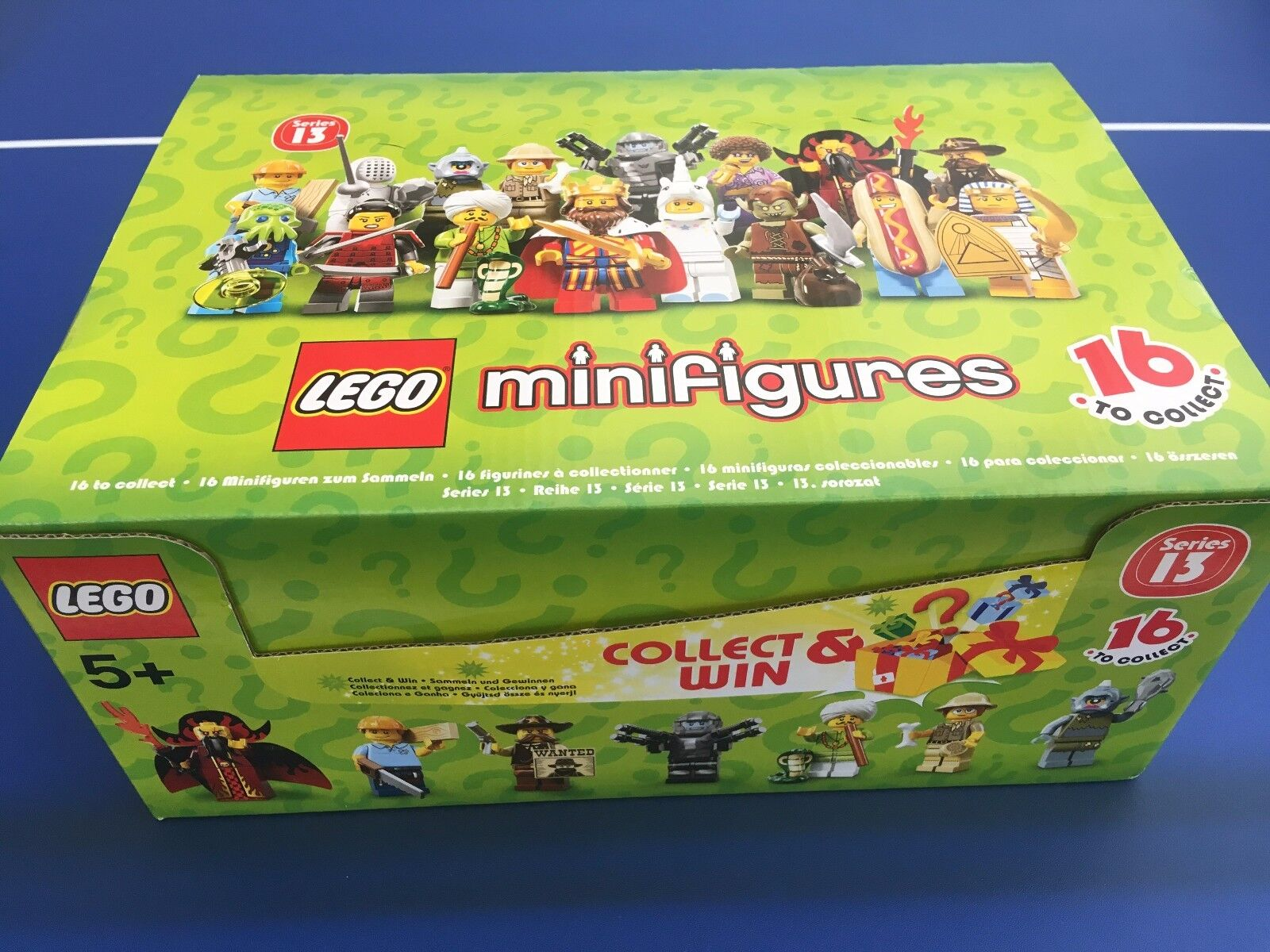 LEGO 71008 SERIES 13 BRAND NEW SEALED BOX OF 60 MINIFIGURES.rotUCED