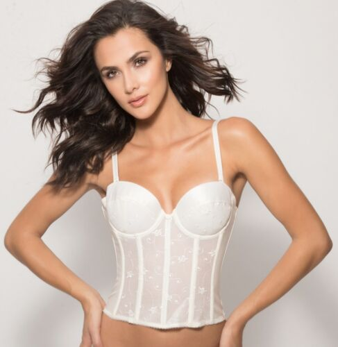 Dominique Convertible Low-Back Bra Style 7777 Size A-DD NWT IVORY