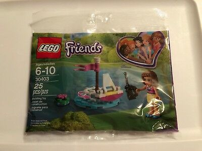 Friends Oliva/'s Remote Boat LEGO 30403 New Polly Bag