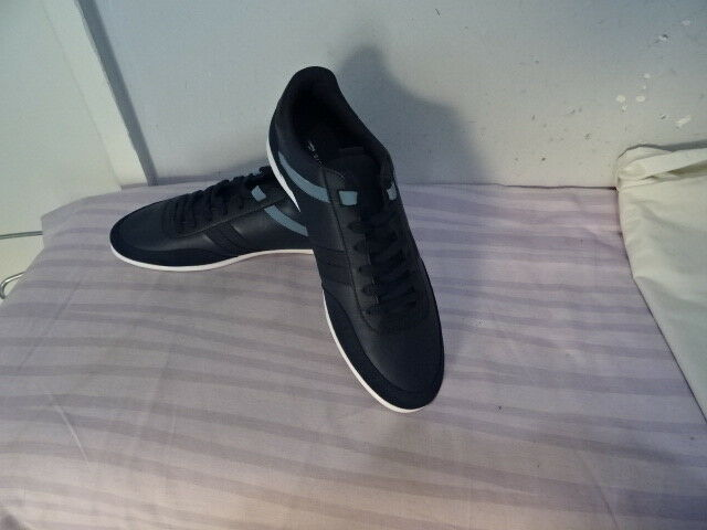 Hommes Premium Lacoste Giron 316 1 SPM Marine Premium Hommes Baskets UK 8/EU 42 29185c