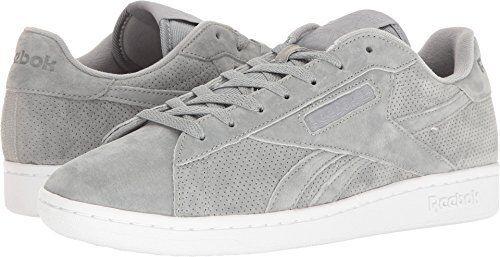 d93d5052c85 Reebok Men s NPC UK Perf Fashion Sneaker 8 D(m) US Flat Grey   White ...