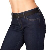 Womens Stretch Invisibelt: No-show Invisible Belt Lays Flat Under Fitted Tops,