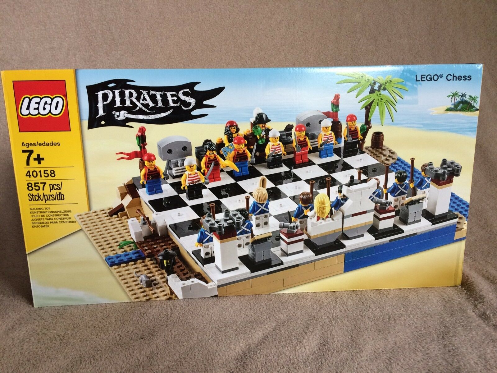 Lego  Chess  Set 40158 Pirates 20 Minicifras re regina SOLDIERS nuovo 857 pcs  80% di sconto