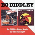 Bo Diddley Rides Again/Bo Diddley in the Spotlight by Bo Diddley (CD, Oct-1998, Beat Goes On)