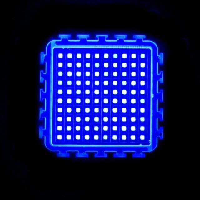100W Watt Blue High Power LED Light Lamp 450-460nm 2000-2500LM 30V Aquarium DIY