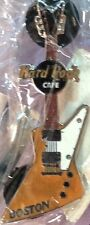 Hard Rock Cafe BOSTON 2001 MINI GUITAR Series PIN - HRC Catalog #1279 Explorer