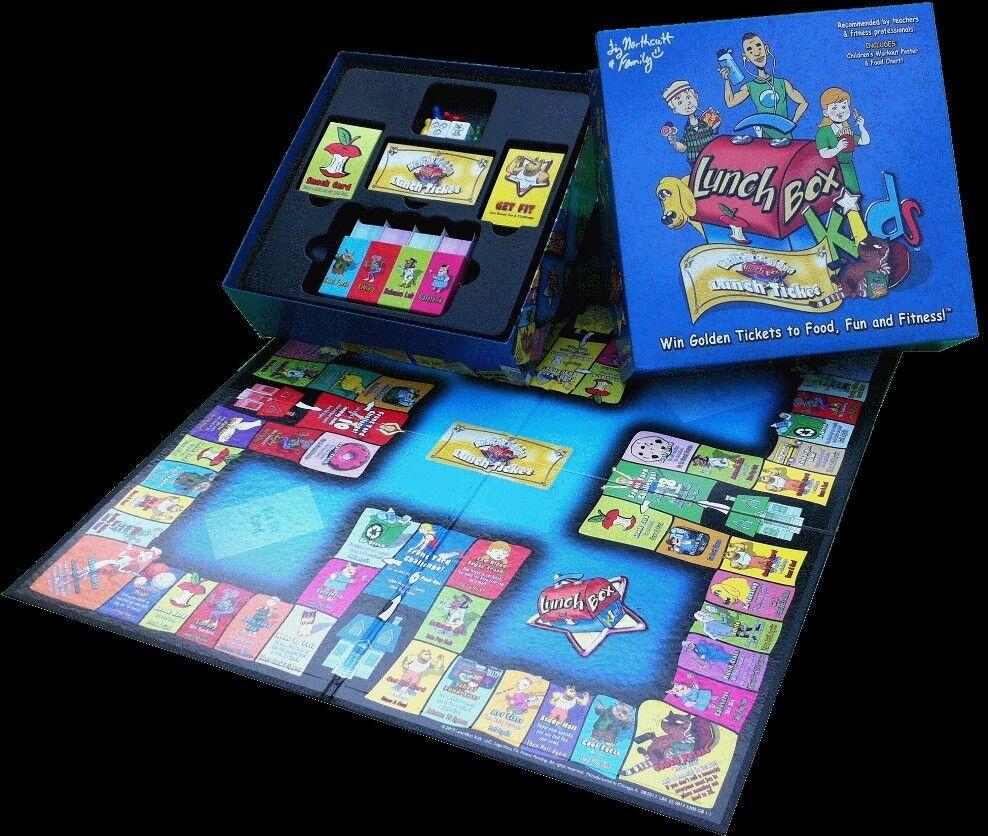 LunchBox Kids Health & Fitness Board Game