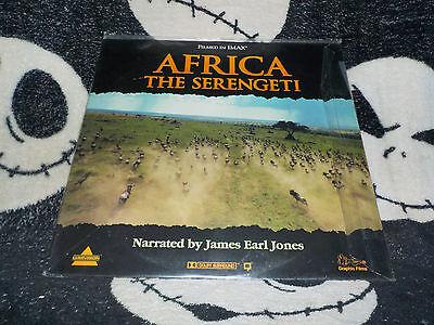 Africa The Serengeti Cav Laserdisc Ld James Earl Jones Gratis Versand $30 Orders Angenehm Bis Zum Gaumen