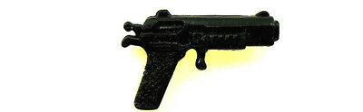 BIN B37 GI Joe Accessory 1989 Night Force Shockwave      Black Hand Gun Pistol