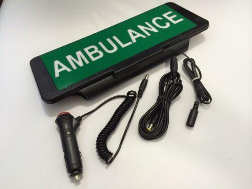 LED Sign Visera iluminado Intermitente Ambulancia Univisor Con Control Remoto
