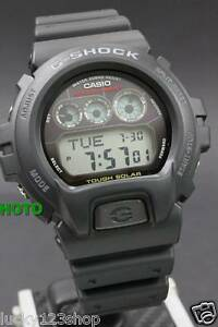 ba71921f55c G-6900-1D Black Casio G-Shock Tough Solar Watches Digital Resin Band ...