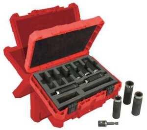 1-2-034-Drive-Impact-Socket-Set-SAE-9pcs-MILWAUKEE-49-66-4484