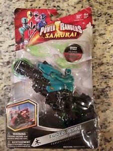 NEW-Power-Rangers-Samurai-Forest-Sword-Cycle-w-Mega-Ranger-Action-Figure-31753