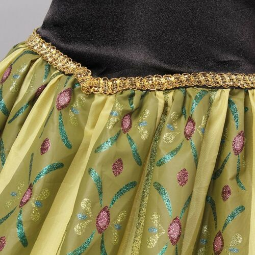 IN STOCK Princess Anna inspired Dress 50125 Frozen Anna Halloween costume