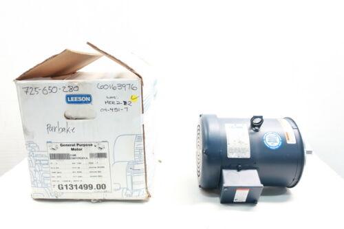 Leeson C184T17FC47AA G131499.00 Ac Motor 184tc 3ph 5hp 1760rpm 575v-ac