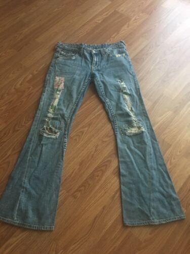 29 Donna Big Taglia T 30 True Jeans Religion Flare PzwYHq
