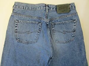 Silver Jeans Button Fly Mens Jeans Sz 31 Measurement 29 x 29 5 | eBay