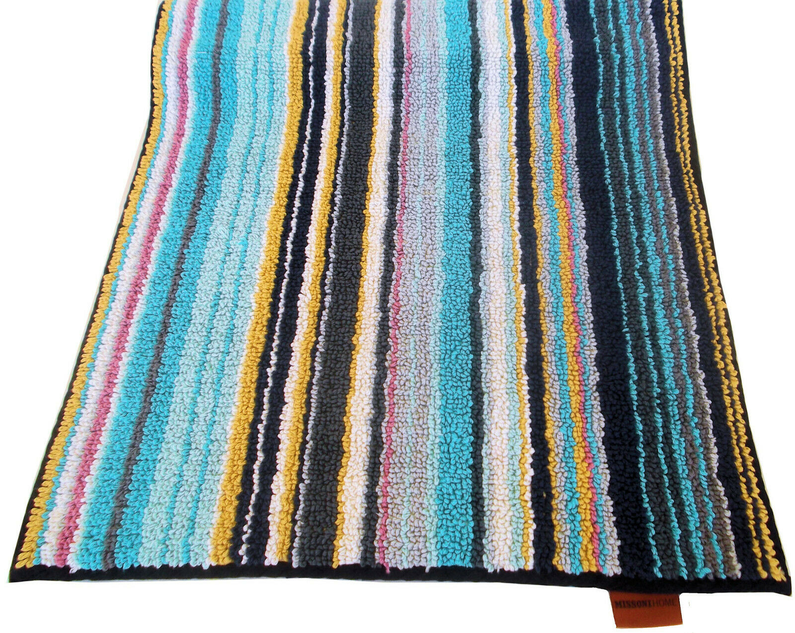 MISSONIHOME BATH MAT TORY 100 BRANDED PACK 100/% COTTON ROSE GARDEN COLLECTION